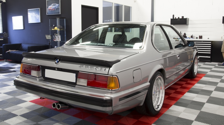 Bmw 635 csi r novation compl te sur mesure detailling for Interieur 635 csi